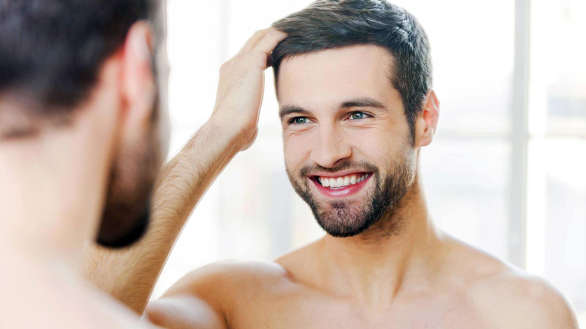 کاشت مو تراکم بالا خط رویش طبیعی
