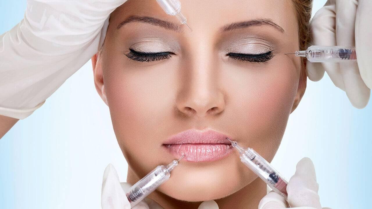 تزریق ژل صورت